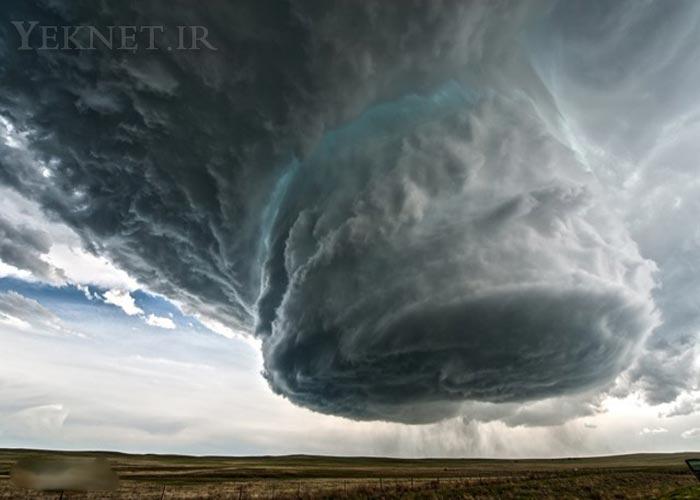 گردباد و طوفان - امريكا