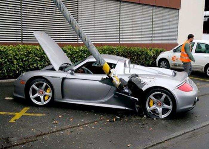 عكس تصادف - تصاوير تصادف خودروهاي مدل بالا