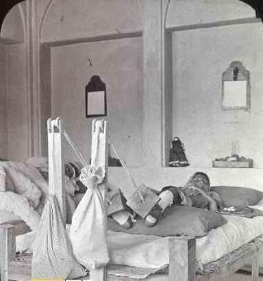 پیشرفته ترین بیمارستان در زمان قاجار + عکس