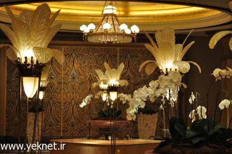هزینه اقامت در هتل 7 ستاره قصر امارات +تصاویر