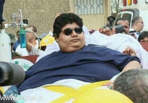 چاقترین مرد جهان+عکس