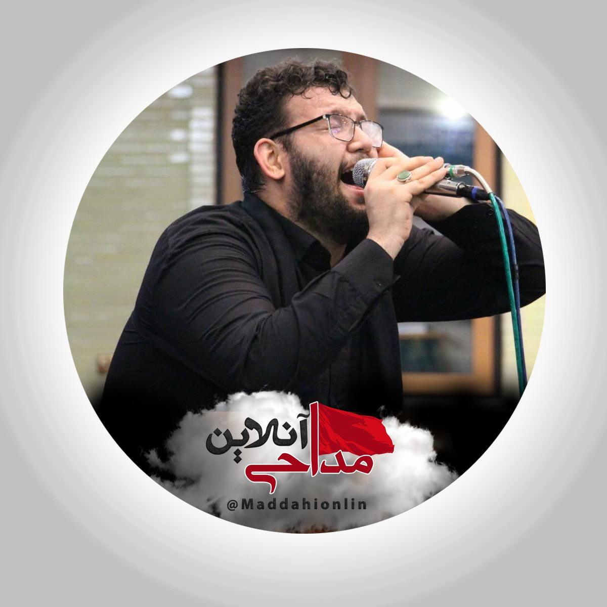 مداحی علیرضا اسفندیاری در حضور رهبر