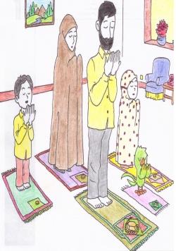 نقاشی رمضان