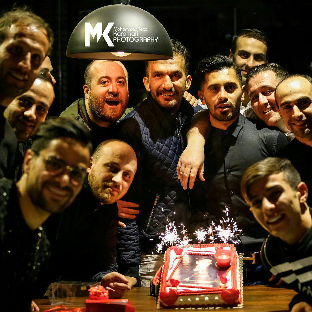 جشن تولد پرسپولیسی ها