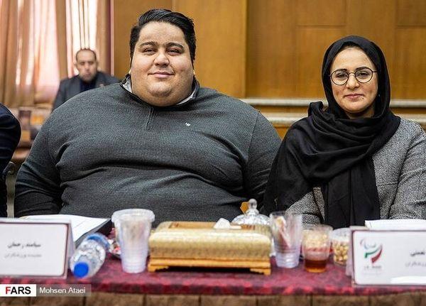 سیامند رحمان و همسرش